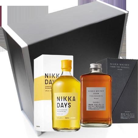 Coffret Best Sellers Nikka - From The Barrel, Nikka Days