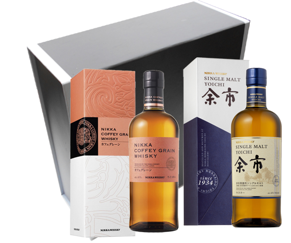 Coffret Whiskys japonais best sellers - Nikka Coffey Grain & Yoïchi Single Malt