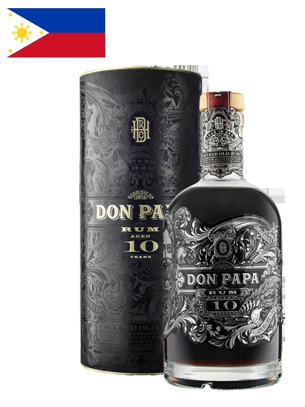 Rhum Don Papa - 10 ans