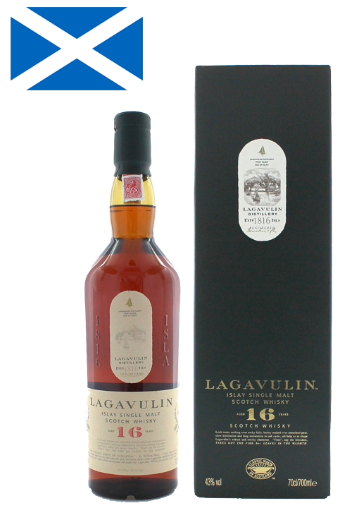 Whisky Lagavulin – 16 ans – Single Malt