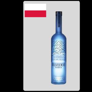 Vodka Belvedere Jéroboam lumineux 3L