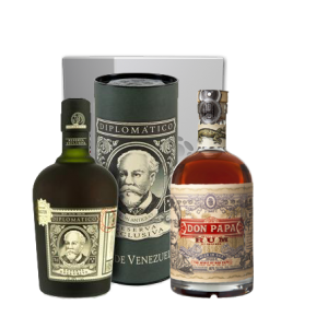 Coffret Rhums Diplomatico & Don Papa