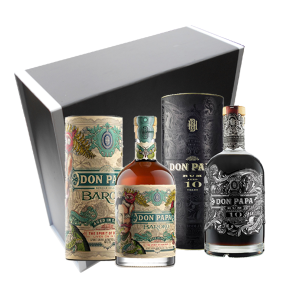 Coffret Rhums Don Papa Baroko & 10 ans