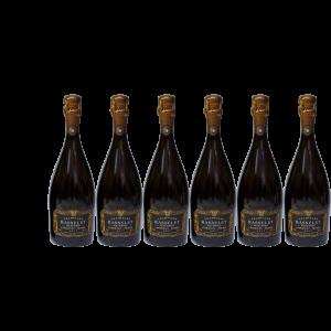 Lot 6 Champagnes Matthieu Rasselet Cuvée des Lys Brut 75cl
