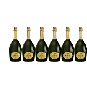 Lot 6 Champagnes R de Ruinart Brut 75cl