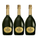 Lot 3 Champagnes R de Ruinart Brut 75cl